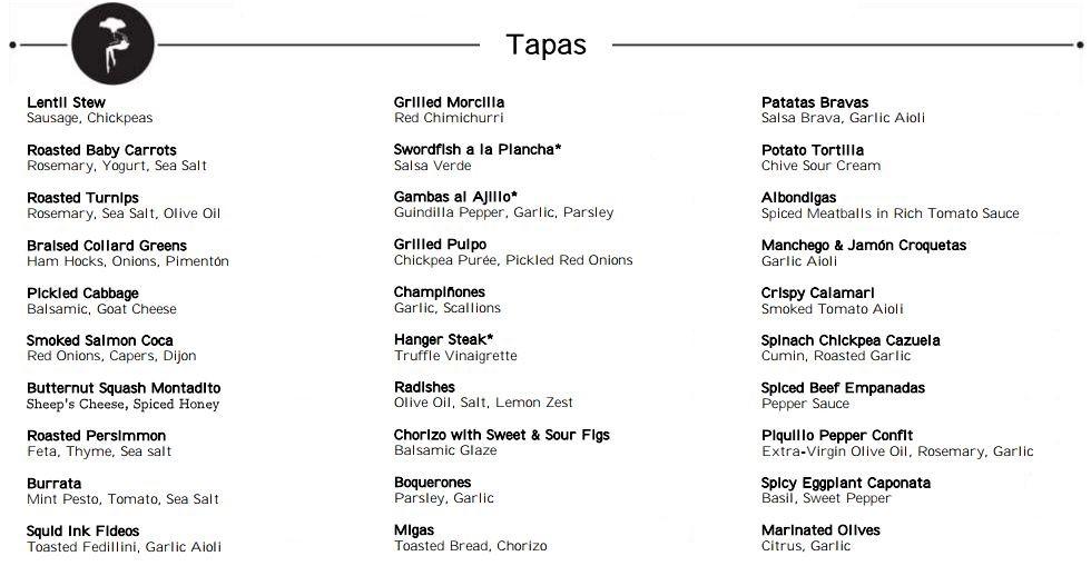 barcelona-tapas-selection